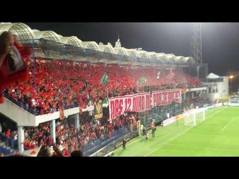 Ultras Montenegro vs Denmark 05.10.2017