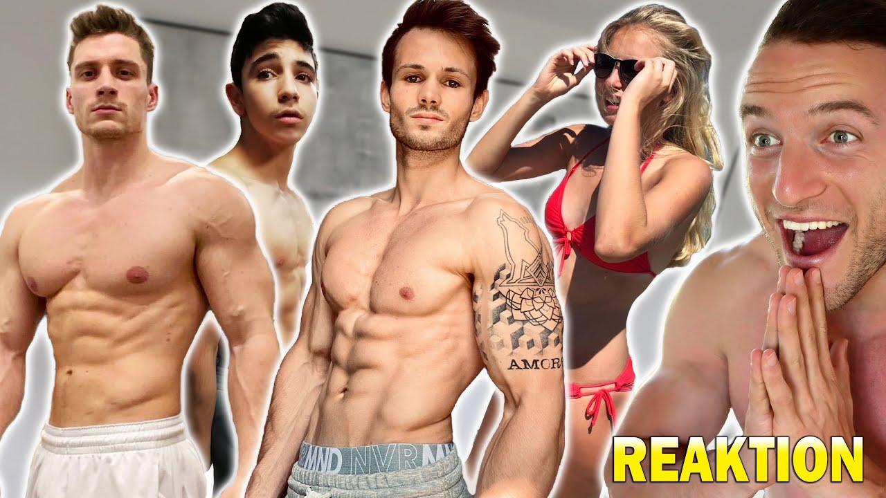 Die extremsten Fitness Transformationen meiner Zuschauer | Sascha Huber Reaktion
