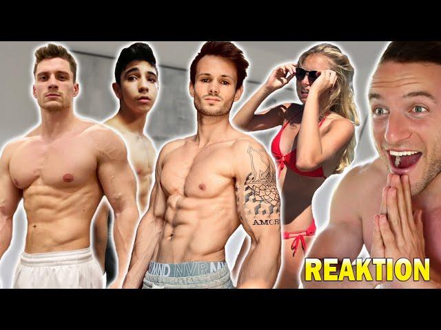 Die extremsten Fitness Transformationen meiner Zuschauer #9 | Sascha Huber Reaktion