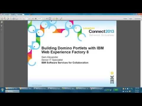 Surfacing IBM Domino Data in WebSphere Portal with IBM Web Experience Factory 8