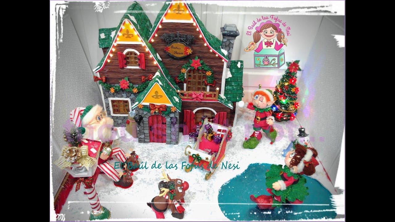 Casitas de navidad en moldes molde de casita de navidad - Casitas de navidad ...