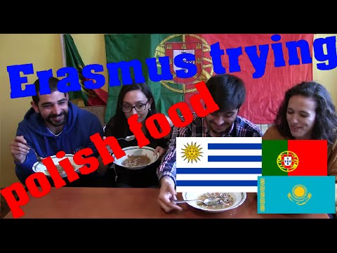Food taste - polish traditional cuisine [WITH PORTUGUESE, URUGUYAN AND KAZAKH]