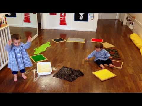 El circuit del tacte. Escola infantil Peggy Sarrià Sant Gervasi.
