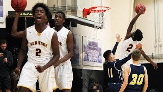 Zaire Wade ALMOST CAUGHT A BODY!! Goes Steph Curry Mode FROM DEEP!! 27 Points