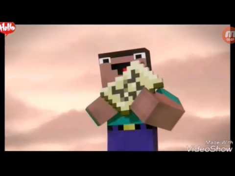 Hoạt hình minecraft phim hài , hai noob