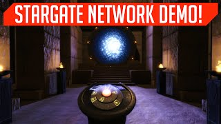 Stargate Simulator! This. Is. AWESOME. (Stargate Network Demo)