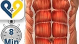 Bauchmuskeltraining 8 minuten