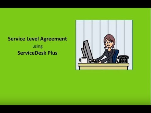 ITIL Service Level Agreement (SLA) tracking & management using ServiceDesk Plus