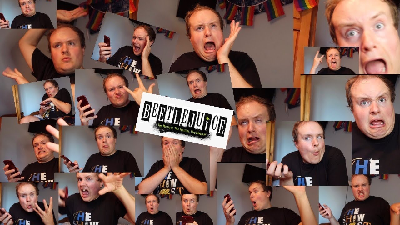 Chaotic Beetlejuice Musical Reaction!