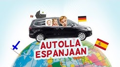 Koko perheellä autolla Espanjaan - Osa 1 - Lähtöselvitys