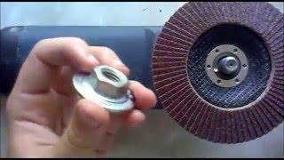 как выбрать контр гайку на болгарку (чтобы не зажимало диск)