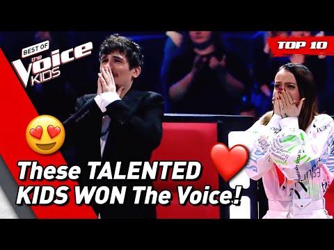 TOP 10 | BEST WINNERS Of The Voice Kids (part 2)
