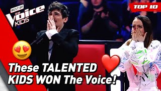 TOP 10 | BEST WINNERS of The Voice Kids PART 2