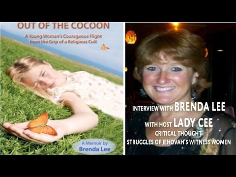 Brenda Lee, Author of Out of the Cocoon - Struggles of Jehovah's Witness Women