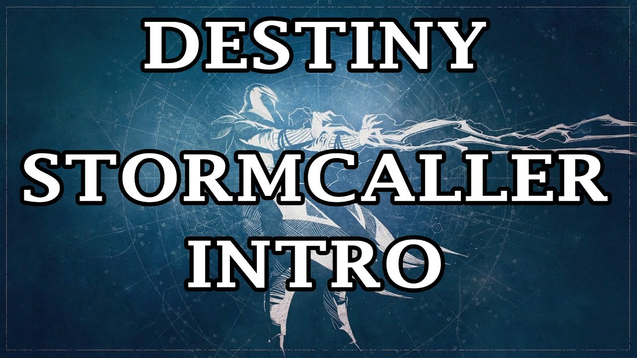 Warlock Stormcaller Intro Cutscene