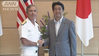 初の日系人米太平洋軍司令官 日米同盟強化を訴える(15/06/12)