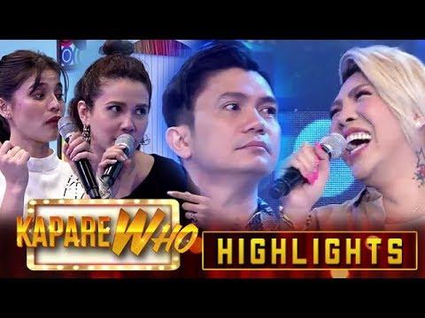 "It's Showtime hosts play ""Walang Tatawa"" challenge | It's Showtime KapareWho"
