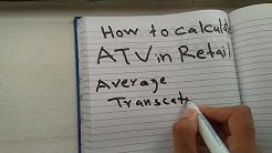 How to calculate ATV in retail easy way