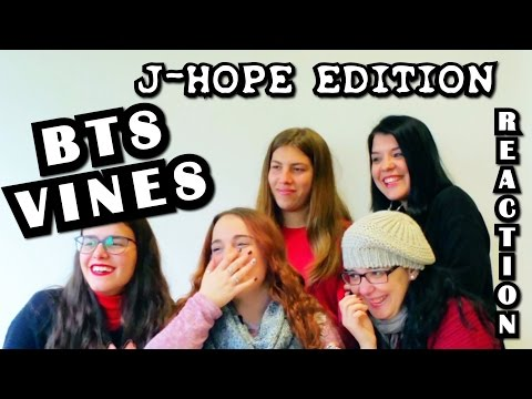 BTS VINES [J-HOPE EDITION] Reaction (LINK IN DESCRIPTION)