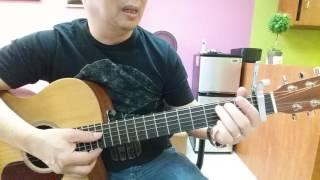 Hướng dẫn intro, lead, & đệm guitar bài: Cầu Cho Cha Mẹ 7. PXC