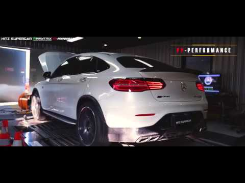 Mercedes GLC43 AMG Coupe W/ ARMYTRIX Exhaust, PP Performance By HITz SuperCar