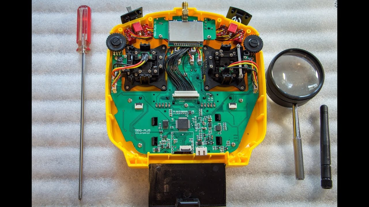 Jumper T8SG V2 0 Plus Взгляд изнутри Banggood