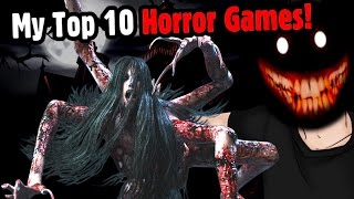 My Top 10 Horror Games! - Caddicarus