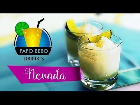 COMO FAZER NEVADA - Papo Bebo DRINKS #1 com Vodka Smirnoff