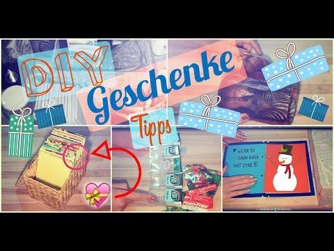 14 Geschenke TIPPS - selbstgemacht, DIY & gekauft! | günstig und schnell | Geschenkideen
