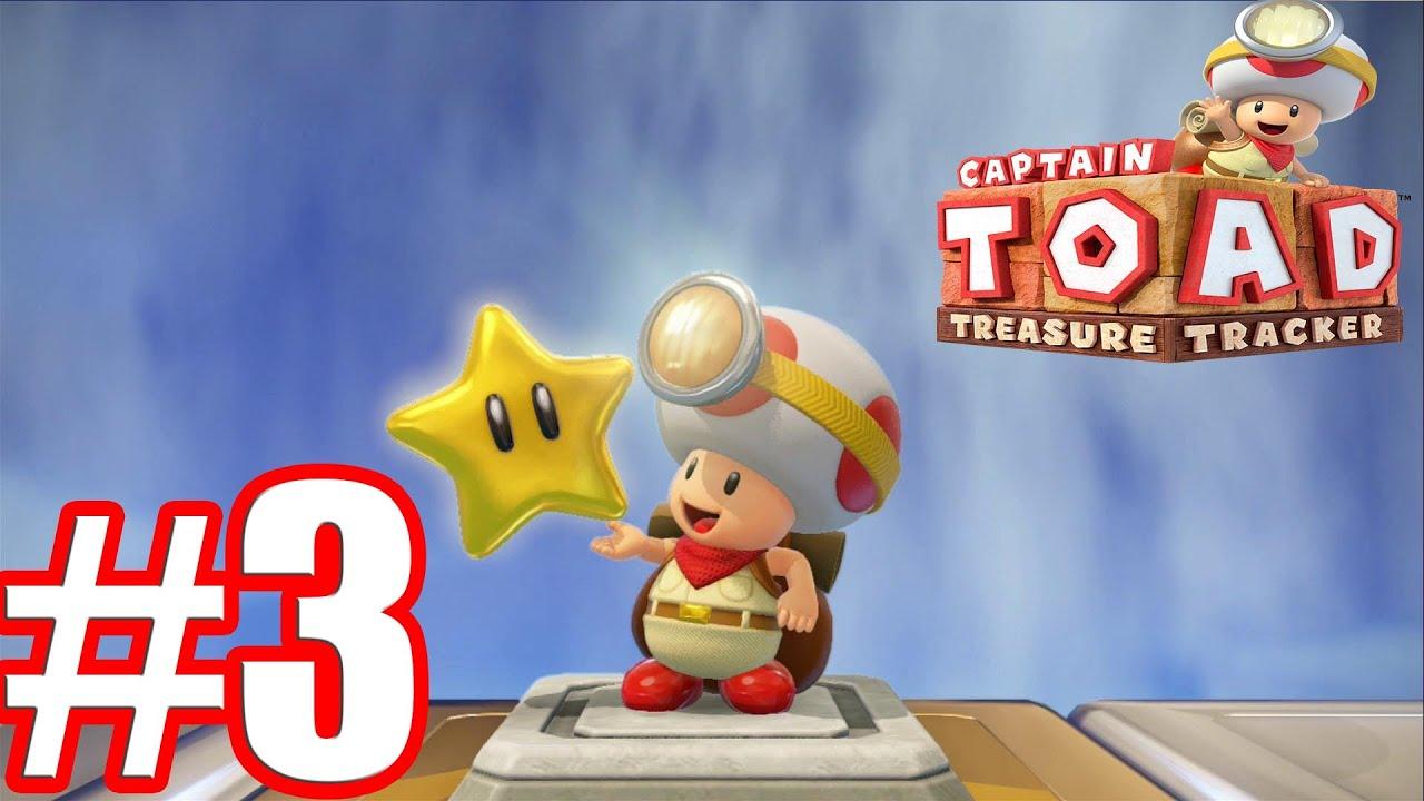 Captain toad treasure tracker walkthrough gameplay part 3 hd