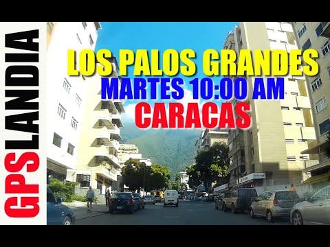 CARACAS LOS PALOS Parque Cristal EMBAJADAS GRANDES VENEZUELA