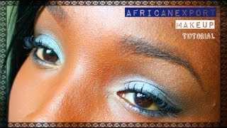 MAKEUP TUTORIAL | Soft Blues, Perfect for denim days (Inexpensive Products)