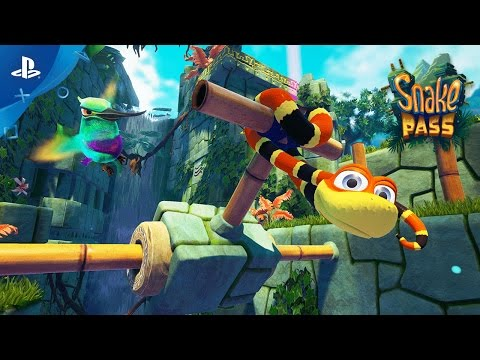 Snake Pass - Launch Trailer | PS4