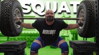 STRONGMAN SQUAT SESSION