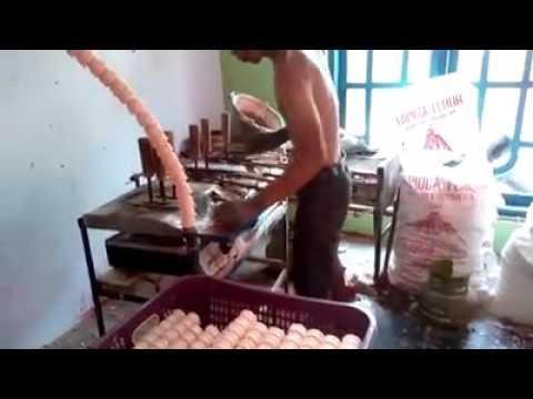 Pembuatan cone ice cream