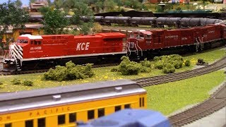 HO Scale: Central Iowa Railroad Club feauring the KCE
