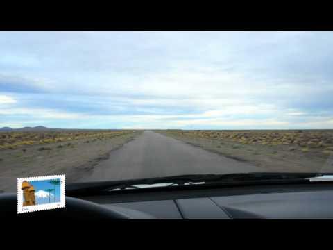 Bariloche-Comodoro Rivadavia. Ruta 258 Argentina. Rumbo al sur Argentino