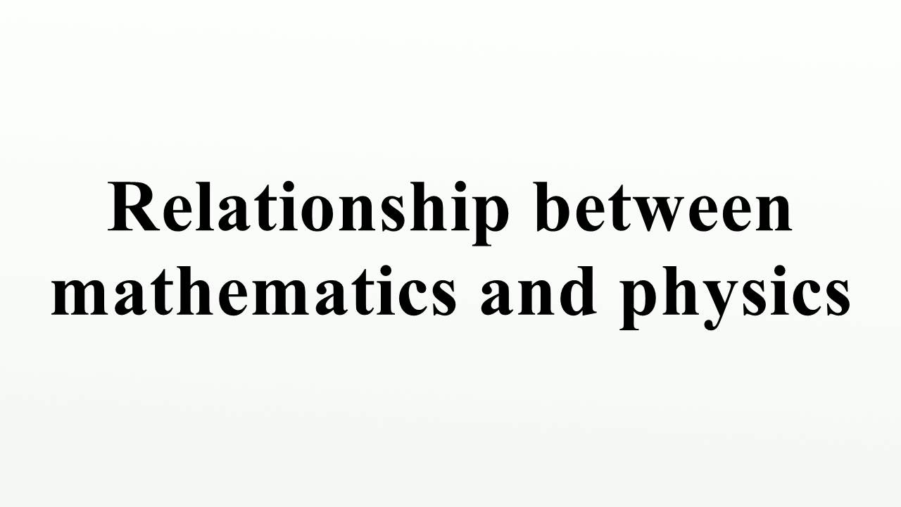 relationship of mathematics between engineering Engineering mechanics mechanics is the study of forces that act on bodies and the resultant motion that those bodies experience with roots in physics and mathematics, engineering mechanics is the basis of all the mechanical sciences: civil engineering, materials science and engineering, mechanical engineering, aeronautical and aerospace and engineering.