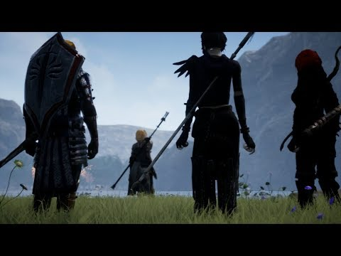 Dragon Age Origins Remastered - New Area with Cutscenes and Animations