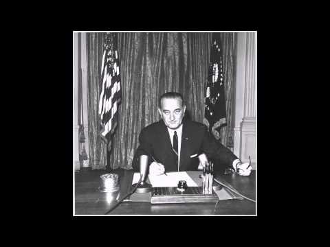 Lyndon B Johnson and Robert McNamara Gulf of Tonkin Incident Tape