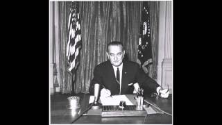 Lyndon B Johnson and Robert McNamara Gulf of Tonkin Incident Tape