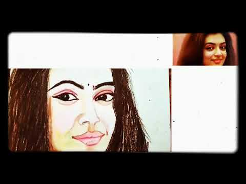 how-to-draw-nazriya-nazim#colour-pencil-art-#realistic-portrait-art-of-nazriya-#பென்சில்-ஓவியம்#