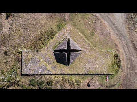 La Pirámide de Valle Nuevo. República Dominicana desde el aire. 4K