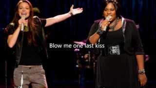 Blow Me ( One Last Kiss) Glee Cast Lyrics
