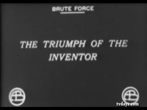 "Laserbeak: D.W. Griffith Observation. Vision depicted in ""Brute Force"" 1914 silent film."