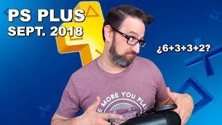 Estos son los juegos GRATIS con PS Plus de Septiembre 2018