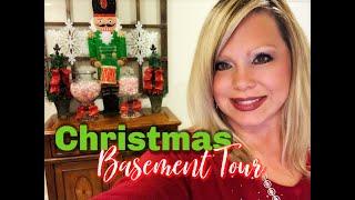 🌲 CHRISTMAS BASEMENT TOUR 🌲