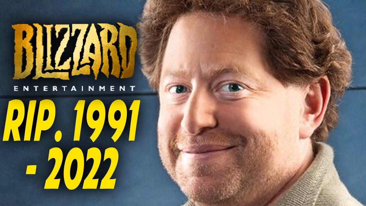 Blizzard is Shutting down in 2022...(rumor)