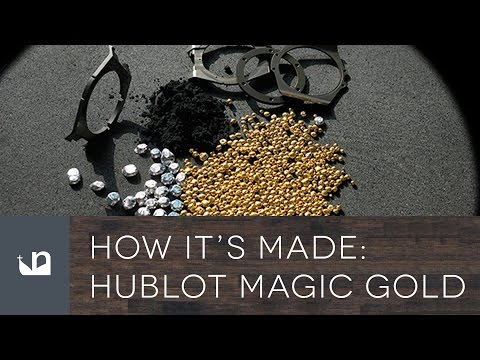 How It's Made - Hublot Magic Gold Watches