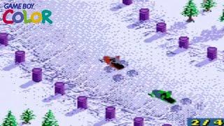 Polaris SnoCross (Game Boy Color Gameplay)